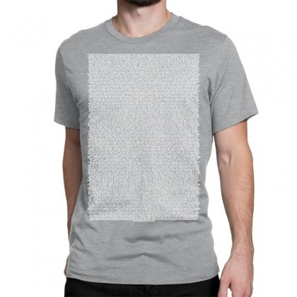 Bee Movie Script Classic T-shirt Designed By Vr46