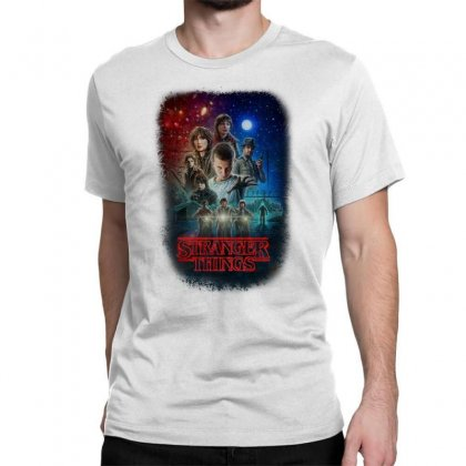 Stranger Things Poster Classic T-shirt Designed By Vr46