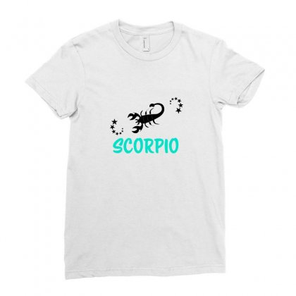 Zodiac Scorpio Ladies Fitted T-shirt Designed By Emardesign