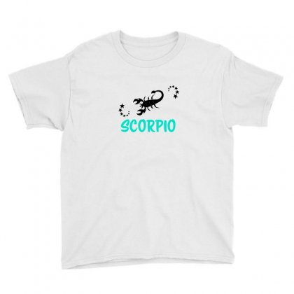 Zodiac Scorpio Youth Tee Designed By Emardesign