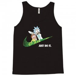 just do it rick and morty for dark Tank Top   Artistshot