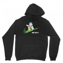 just do it rick and morty for dark Unisex Hoodie   Artistshot
