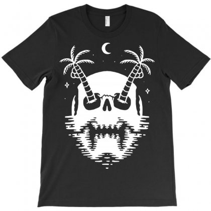Death Island T-shirt Designed By Quilimo