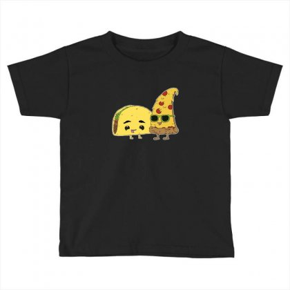 Bffs (best Foods Forever) Toddler T-shirt Designed By M0ch