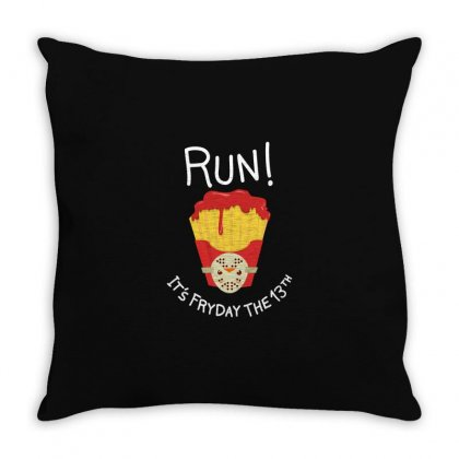 Bloody Fryday The 13th Throw Pillow Designed By M0ch