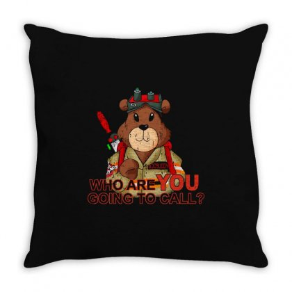 Boobusters Throw Pillow Designed By M0ch