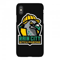 rain city bitch pigeons iPhoneX Case | Artistshot