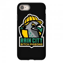 rain city bitch pigeons iPhone 8 Case | Artistshot