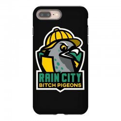 rain city bitch pigeons iPhone 8 Plus Case | Artistshot