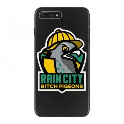 rain city bitch pigeons iPhone 7 Plus Case | Artistshot