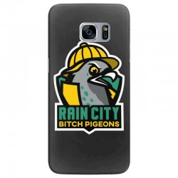 rain city bitch pigeons Samsung Galaxy S7 Edge Case | Artistshot