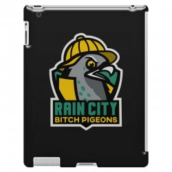 rain city bitch pigeons iPad 3 and 4 Case | Artistshot