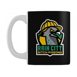 rain city bitch pigeons Mug | Artistshot