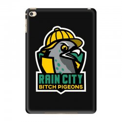 rain city bitch pigeons iPad Mini 4 Case | Artistshot