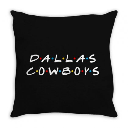 Dallas Cowboys Throw Pillow Designed By Toweroflandrose