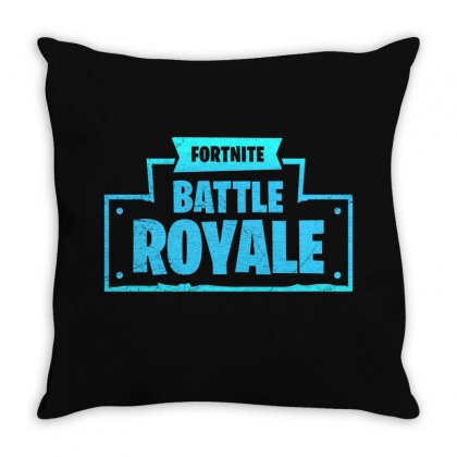 Fortnite Battle Royale Throw Pillow Designed By Toweroflandrose