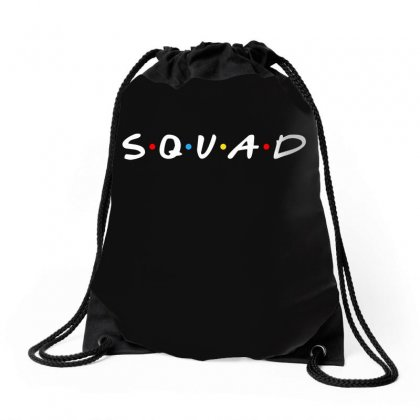 Squad Friends Parody Drawstring Bags Designed By Toweroflandrose