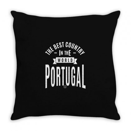 Portugal Throw Pillow Designed By Chris Ceconello
