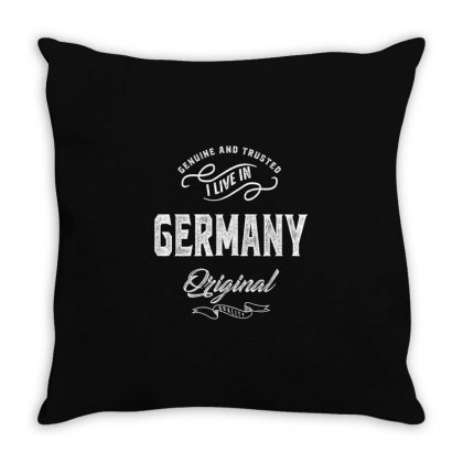 Germany Throw Pillow Designed By Chris Ceconello