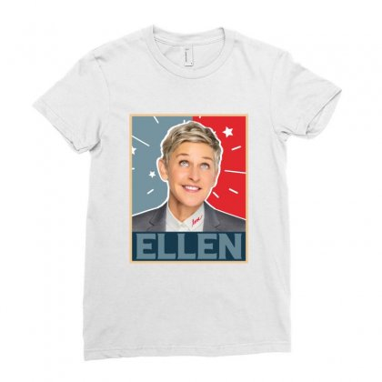 Ellen Degeneres Ladies Fitted T-shirt Designed By Sengul