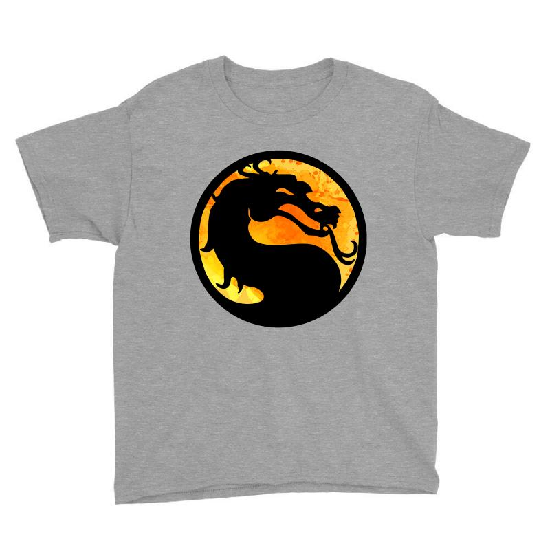 a5af9bad6091f8 Custom Mortal Kombat Youth Tee By Sengul - Artistshot