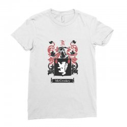 mccroskey family Ladies Fitted T-Shirt   Artistshot