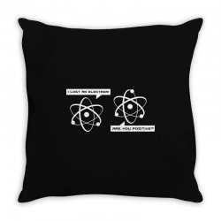 mma big bang theory i lost an electron funny 2019 Throw Pillow | Artistshot