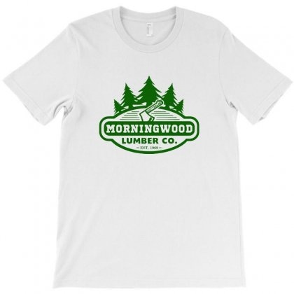 Morning Wood T Shirt Offensive T Shirt Saying Morningwood Lumber Compa T-shirt Designed By Tee Shop