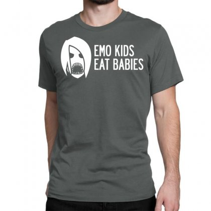Emo Kids Eat Babies Classic T-shirt Designed By Specstore