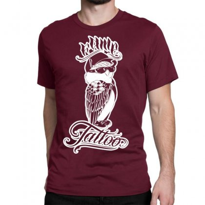 Fame Tattoo Classic T-shirt Designed By Specstore