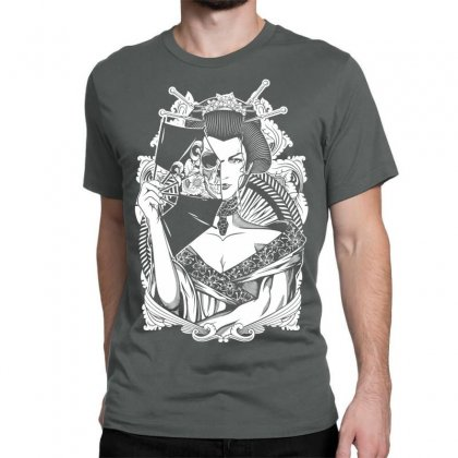 Half Dead Geisha Classic T-shirt Designed By Specstore