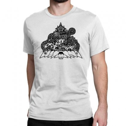 Ilumination Doodle Classic T-shirt Designed By Specstore