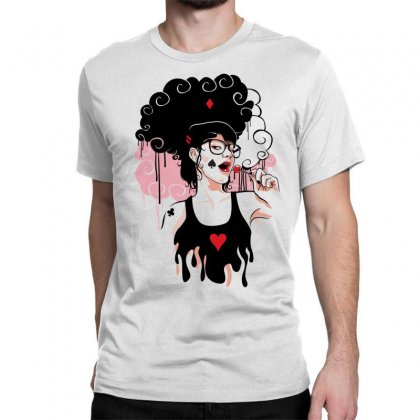 Lollipop Girl Classic T-shirt Designed By Specstore