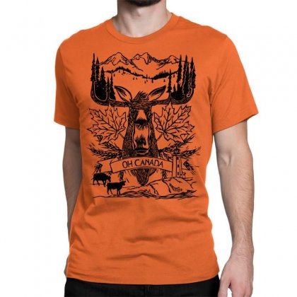 Oh Canada Classic T-shirt Designed By Specstore