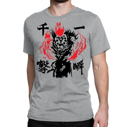 Raging Demon Classic T-shirt Designed By Specstore