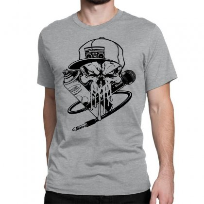 Skull Artis Classic T-shirt Designed By Specstore