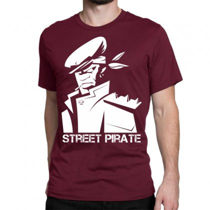 Street Pirate Classic T-shirt Designed By Specstore