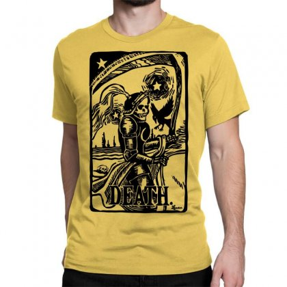 Tarot Death Card Classic T-shirt Designed By Specstore