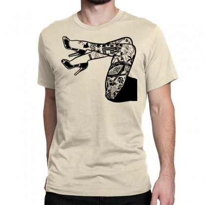Tattooed Legs Classic T-shirt Designed By Specstore