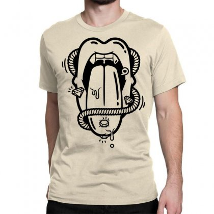 The Diamond Tongue Classic T-shirt Designed By Specstore