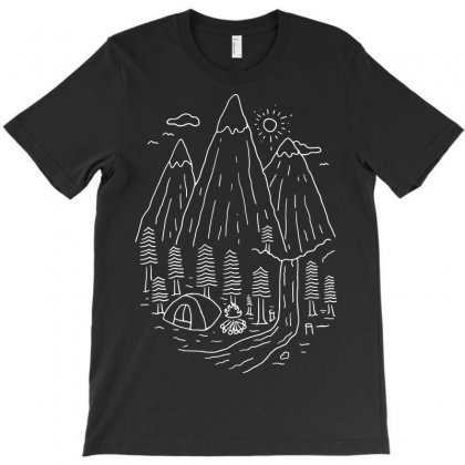 Home Sweet Home (for Dark) T-shirt Designed By Quilimo