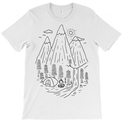 Home Sweet Home (for Light) T-shirt Designed By Quilimo