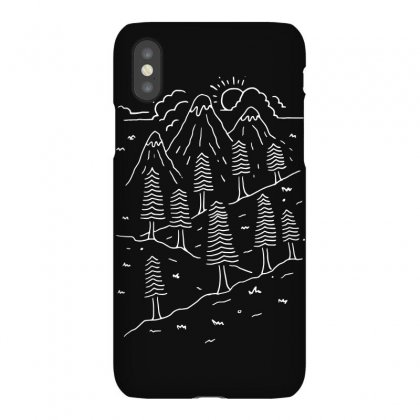 Hiking Trails (for Dark) Iphonex Case Designed By Quilimo