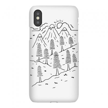 Hiking Trails (for Light) Iphonex Case Designed By Quilimo