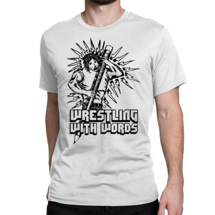 Wrestling With Words Classic T-shirt Designed By Specstore