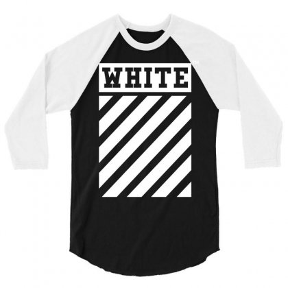 Off White 3/4 Sleeve Shirt Designed By Toweroflandrose