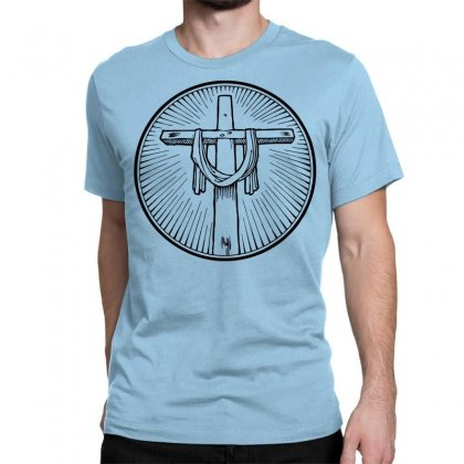 Easter Sunday Cross Classic T-shirt Designed By Specstore