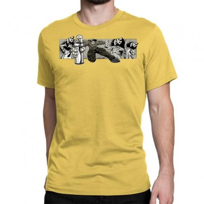 Graffiti Man Classic T-shirt Designed By Specstore