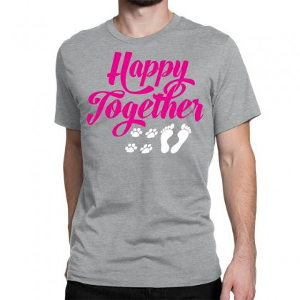 Happy Together With Pet Classic T-shirt Designed By Specstore