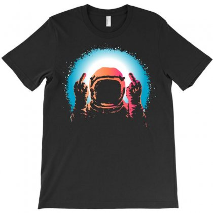 Negative Spaceman T-shirt Designed By Tee Shop